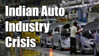 Auto Industry Crisis: Worst in 19 Years
