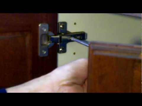 How To Adjust Dtc Cabinet Hinges With Pictures Videos