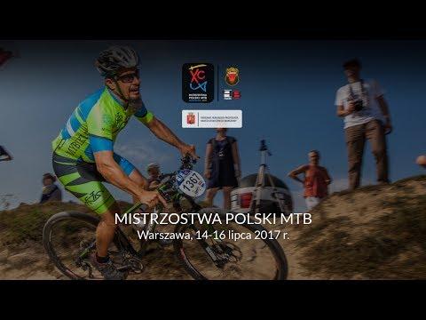 Mistrzostwa Polski w kolarstwie górskim 2017 – Warszawa [stream]