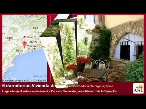 6 dormitorios Vivienda de pueblo se Vende en Vila Rodona, Tarragona, Spain