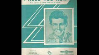 1954SinglesNo1 I need you now by Eddie Fisher