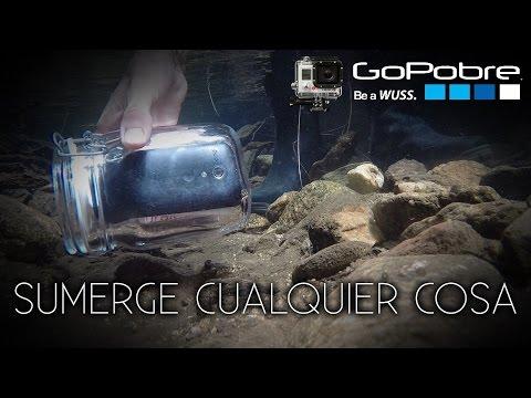 La carcasa submarina universal casera   GoPobre #11