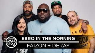 Ebro In The Morning - Faizon Love & DeRay Davis Go OFF On Spike Lee & Share Airport Fight Stories