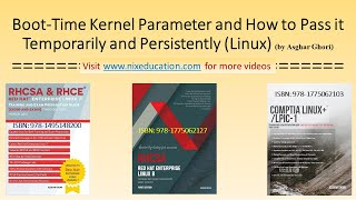 How to Pass a Boot-Time Parameter to the Kernel in Linux