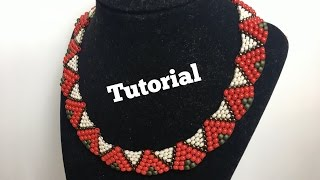 DIY Peyote Stitch Necklace