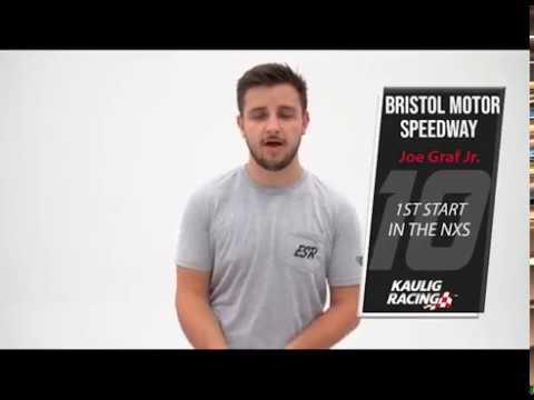 Graf Jr. Prepared to Make First NASCAR Xfinity Series Start at Bristol Motor Speedway