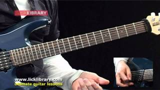 Joe Satriani - Circles Guitar Lesson With Andy James Licklibrary