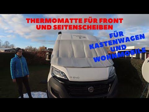 Carbest Thermomatte für Fiat Ducato Camper  Kastenwagen und Wohnmobile Van Life