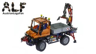 Lego Technic 8110 Mercedes Benz Unimog U400 - Lego Speed Build Review