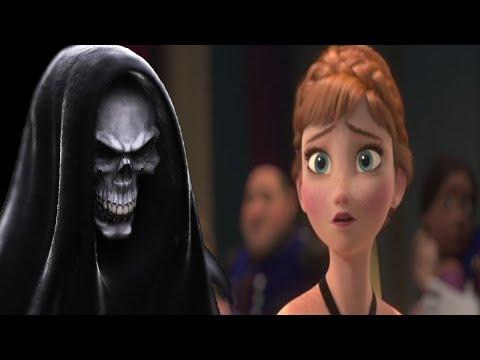 Una Figura De La Muerte Es Encontrada En La Pelicula De Frozen