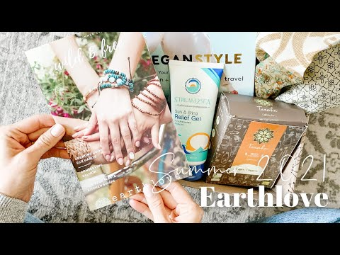 Earthlove Unboxing Summer 2021