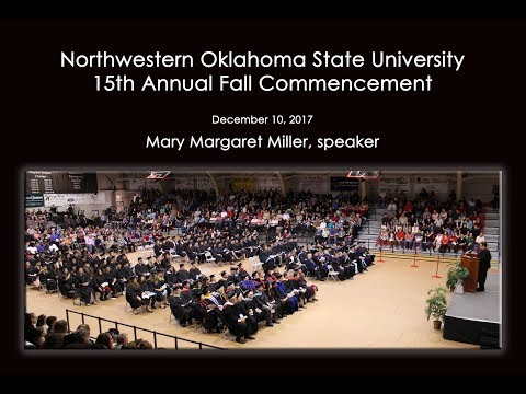 Fall 2017 Commencement - Northwestern Oklahoma State University