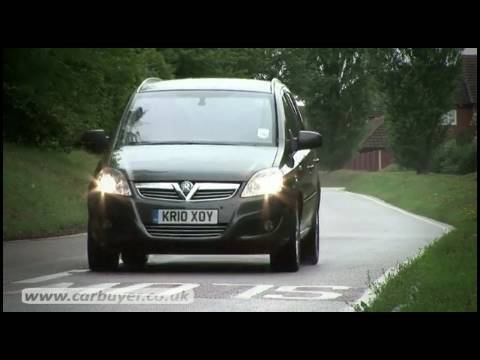 Vauxhall Zafira MPV Review
