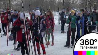 В Химках прошел благотворительный лыжный забег