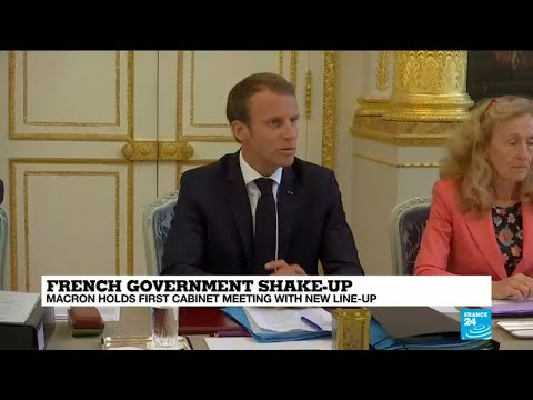 Macron holds first cabinet meeting after government shake-up
