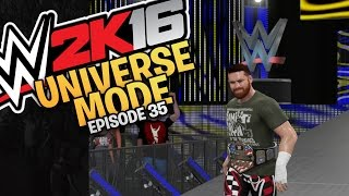 WWE 2K16 Universe Mode: Episode 35 - Monday Night Raw