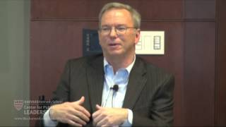 """""""The New Digital Age"""" with Eric Schmidt"""