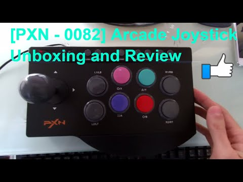 [PXN – 0082] Arcade Joystick Unboxing and Review