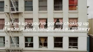 Blossoms   Getaway (lyrics)