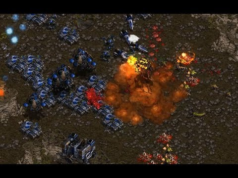 Fantasy (T) v HyuK (Z) on Bloody Ridge - StarCraft  - Brood War REMASTERED 2019