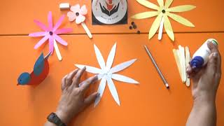 Technique of Flower Cutting | Basic Flower Cutting | Akshara Teacher Training - CUTTING