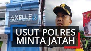 Rekaman Polres Minta Jatah ke PT Axelle Toraja Beredar di Masyarakat, Kapolres: Itu Keji dan Fitnah