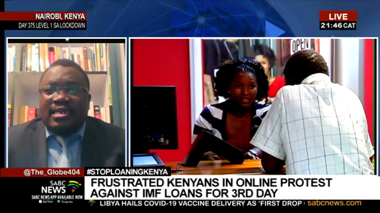 Annoyed Kenyans continue to object online over IMF loans: David Owiro