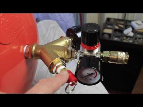 Umbau Kompressor