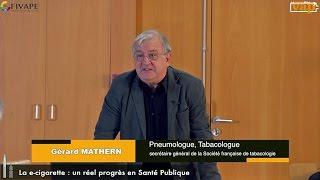 Dr Gérard Mathern : La e-cigarette, un réel progrès en santé publique