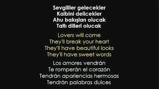 Nil Karaibrahimgil - Benden Sana (Sözleri - Lyrics - Letra español)