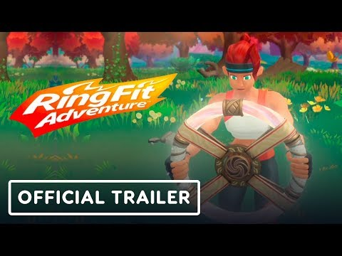 Ring Fit Adventure - Official Trailer