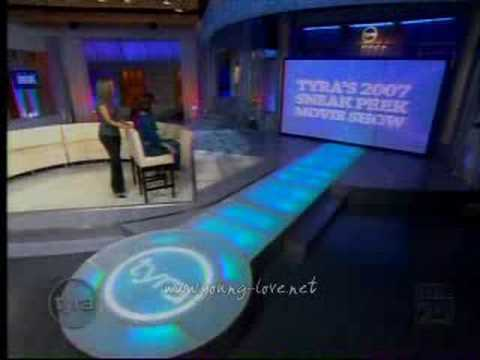 Chris Brown on the TYRA show (HQ) (Part 5/5)