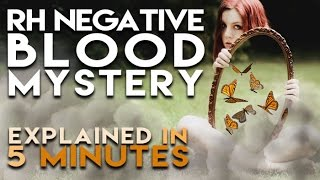 Rh Negative Blood Mystery | Explained in 5 Minutes | reallygraceful