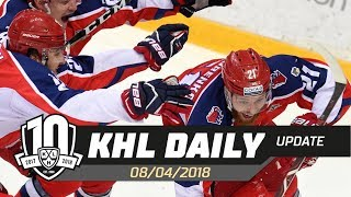 Daily KHL Update - April 8th, 2018 (English)