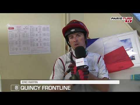"""Quinté vendredi 22/06 : """"Quincy Frontline (6) devrait être à l'arrivée si..."""""""