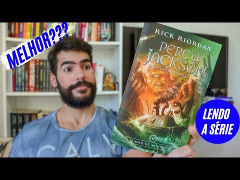 PERCY JACKSON E O MAR DE MONSTROS - LENDO A SÉRIE | Me Acabei de Ler