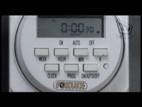 Veja como é fácil programar o Temporizador / Timer Foxlux - 8 Programações