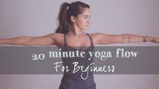 20 Min Yoga Flow for Beginners by Yoga by Candace