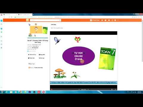Hướng dẫn học sinh học online trên Viettelstudy