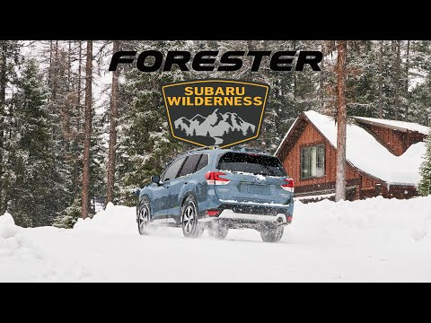 CONFIRMED: 2022 Subaru Forester Wilderness - The Offroad Forester