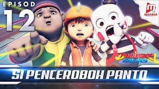BoBoiBoy Galaxy EP12 | Si Penceroboh Panto - (ENG Subtitle)