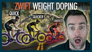 How to cheat zwift