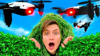 I Used A Drone to Cheat at Hide and Seek!!