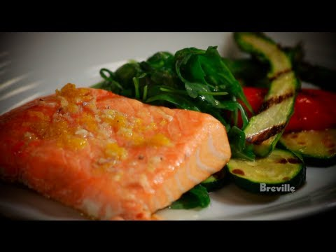 Breville Presents Slow-Roasted Salmon with Vegetables by Chef Jeremy Sewall in Fishing for Real