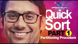 Quick Sort Part 1 (Partitioning Procedure) Design and Analysis of Algorithms