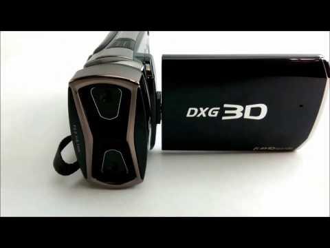 DXG-5F9V 3D Video Camera
