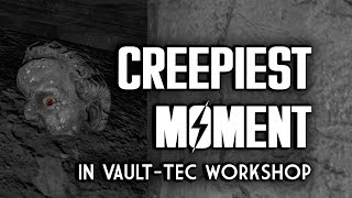 The CREEPIEST Moment in Vault-Tec Workshop - Fallout 4