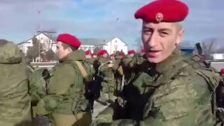 Спецназ Минобороны России из Чечни отправляется в Сирию, где будут нести военно-полицейскую службу