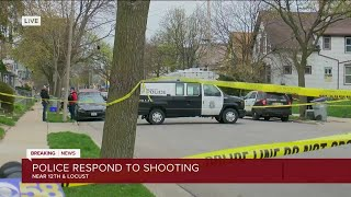 Police respond to shooting near 12th and Locust