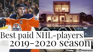 Best paid NHL-players 2019/2020 (TOP 20)